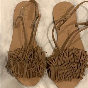 Never worn flat sandal from Banana Repubic
